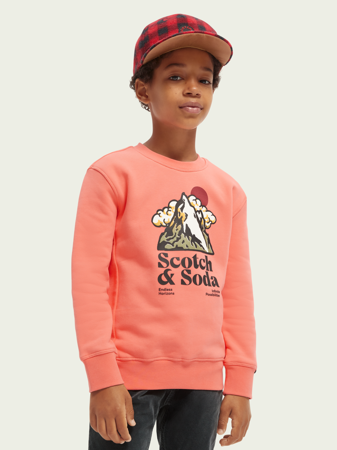 Kinder Graphic sweater