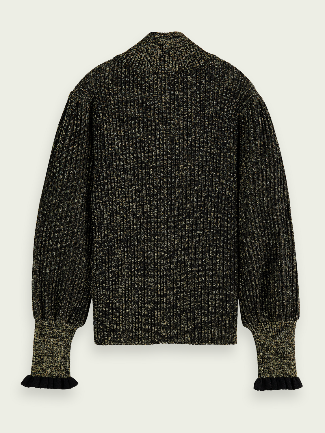 Kinder Sparkly voluminously-sleeved sweater