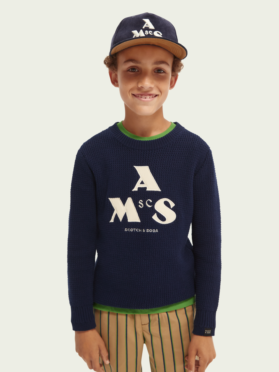 Hidden category Graphic sweater