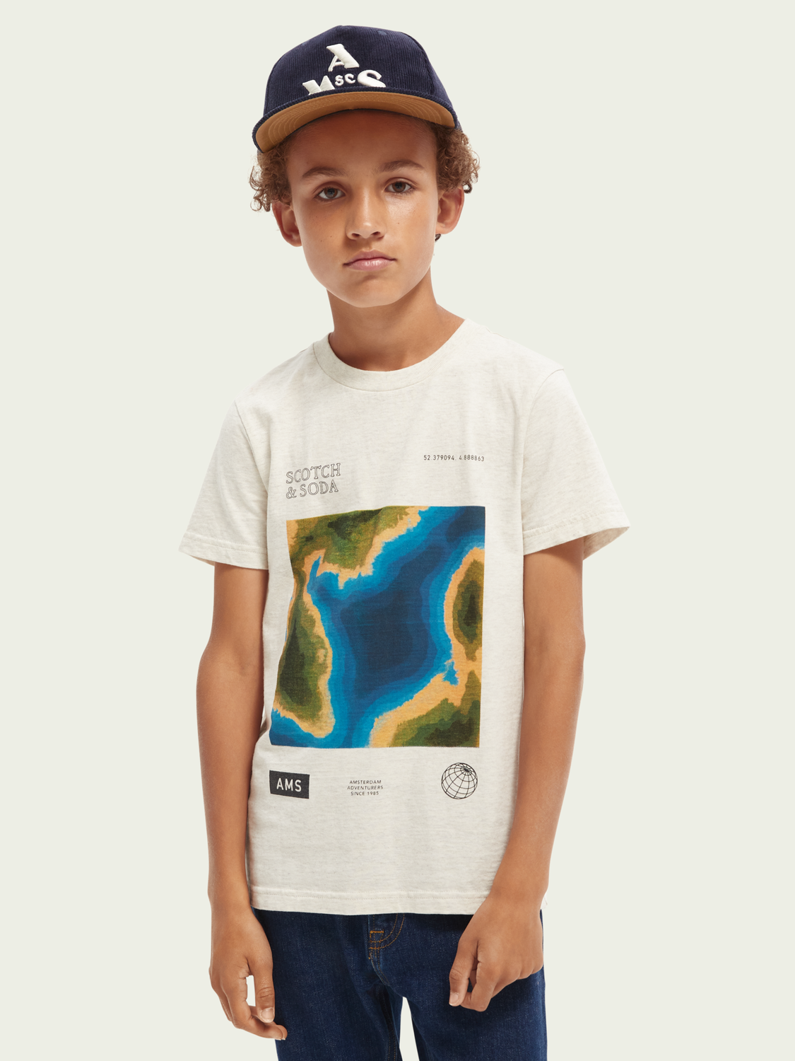 Kids Relaxed-fit short-sleeved T-shirt
