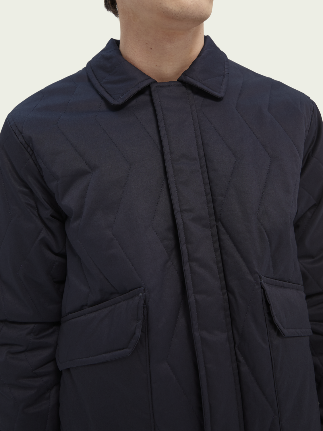 Men Classic quilted jacket
