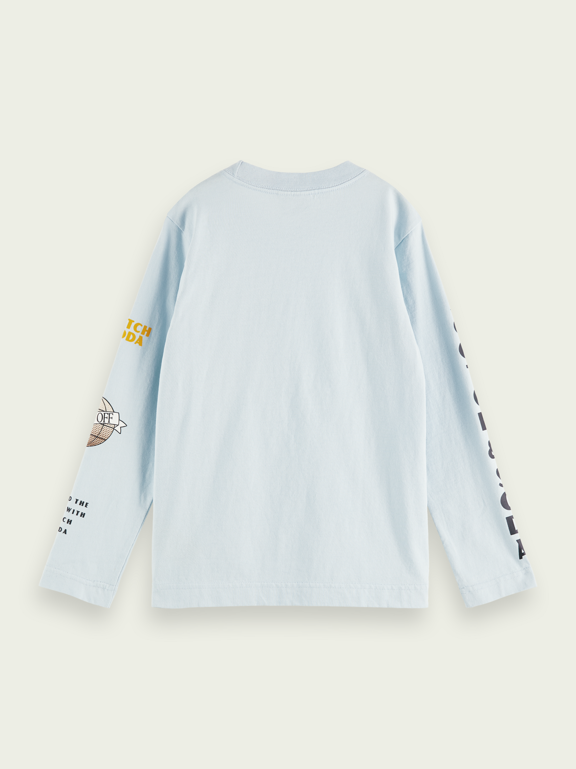 Kids Placed graphic cotton shirt