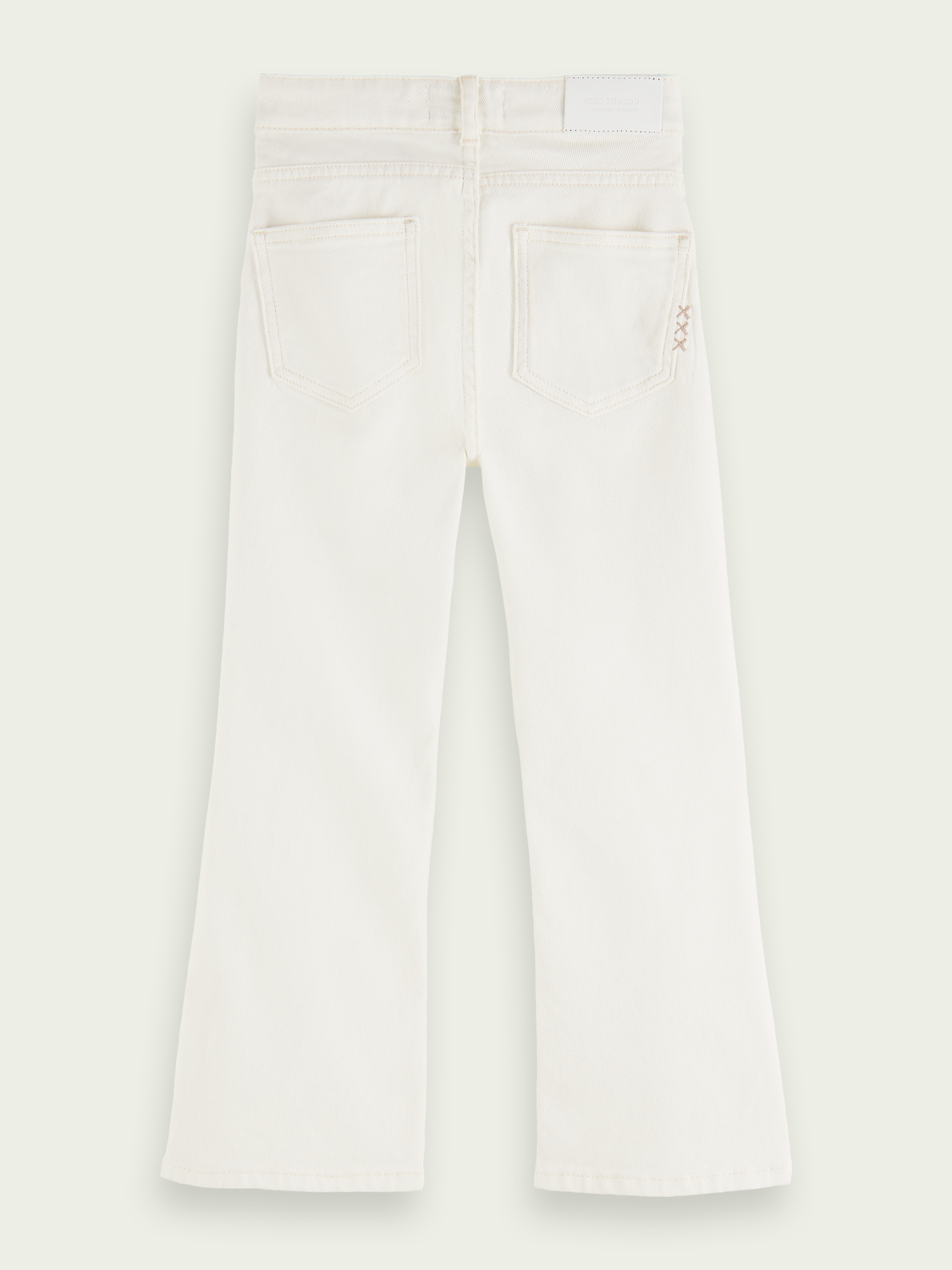 Kids The Kick flared jeans — Summer White