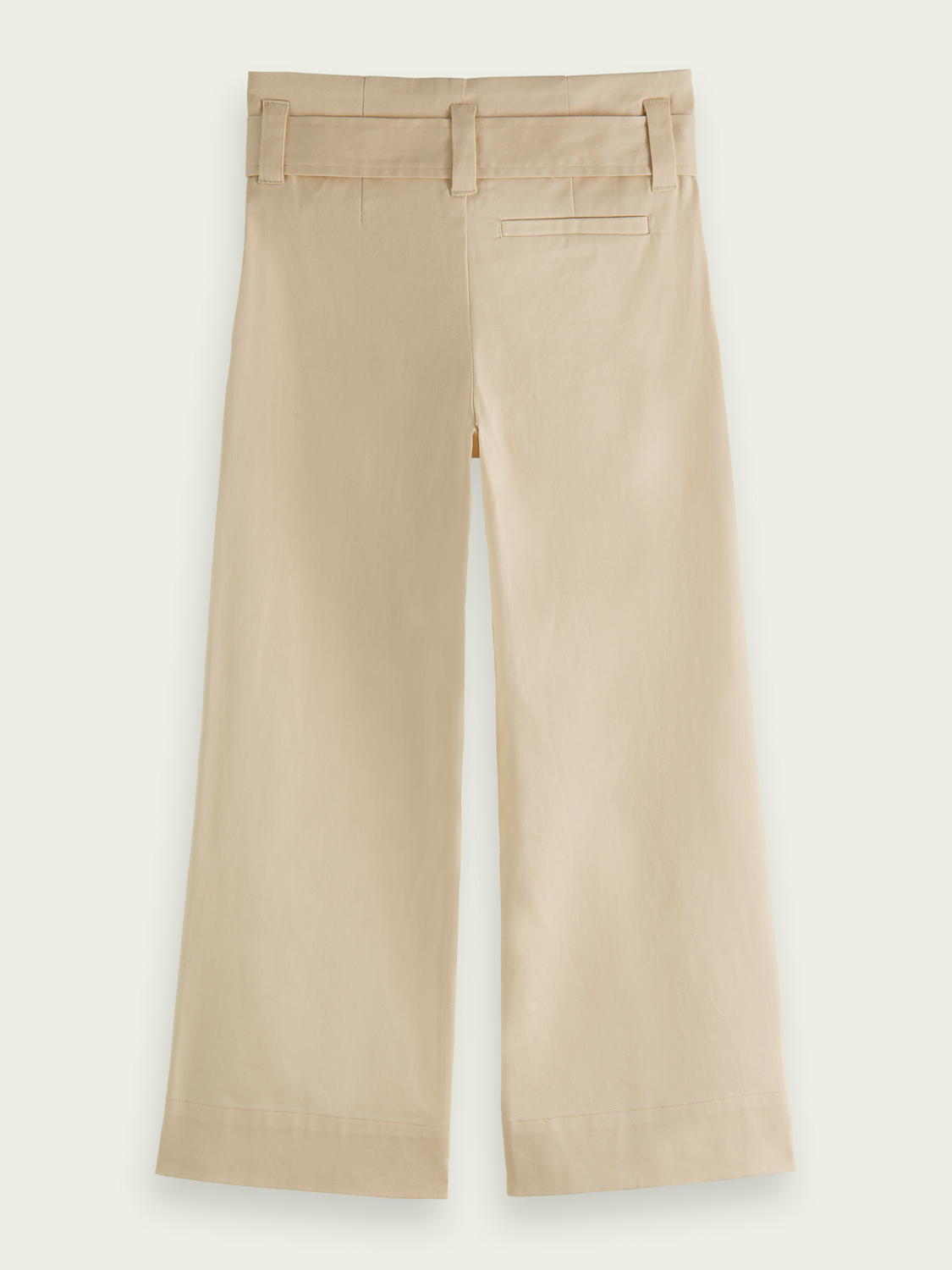 Kids High rise paper bag trousers