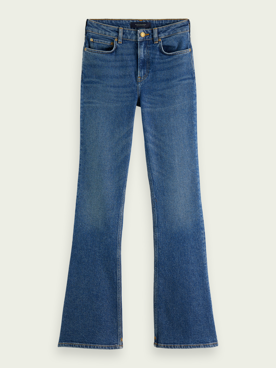 Women The Charm flared jeans - Sea Washed