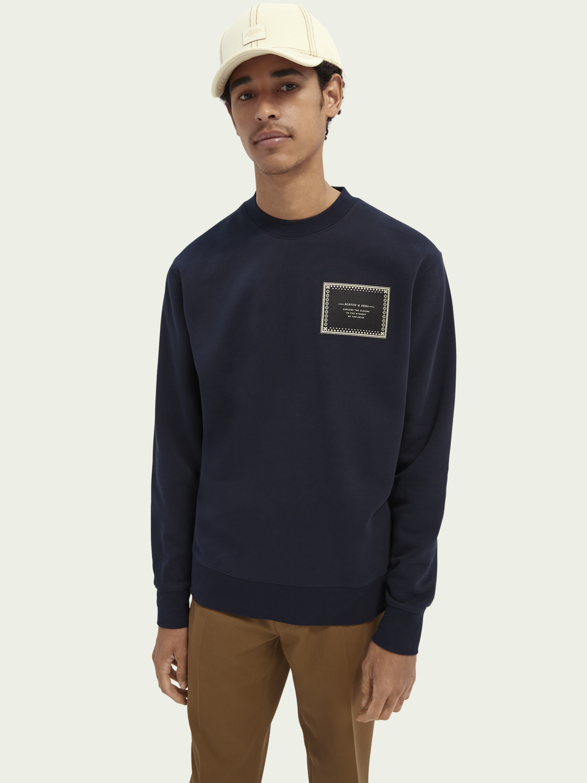 Herren Grafik-Sweatshirt mit Rundhalsausschnitt