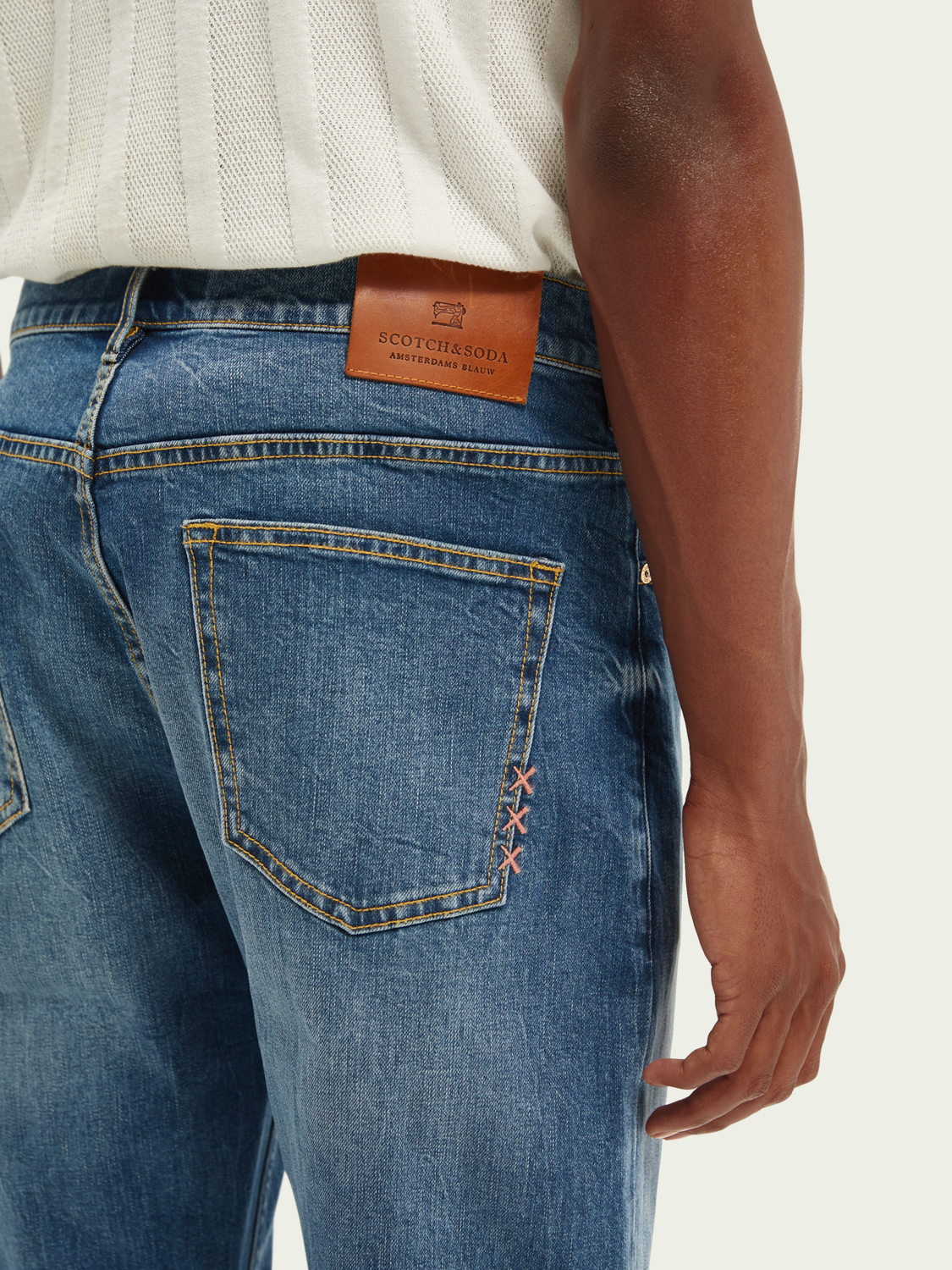 Heren Norm straight fit jeans – Blue ink