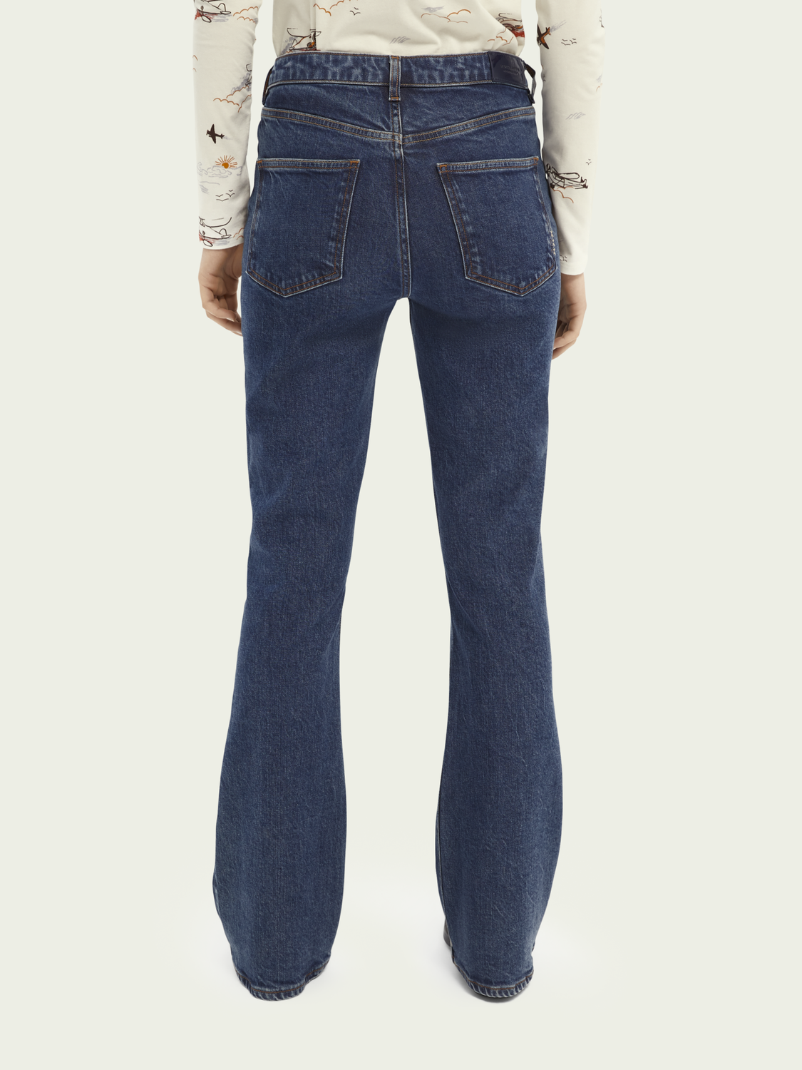 Dames The Charm jeans – Ocean Rinse