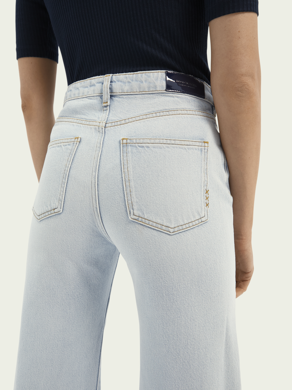Dames Jeans met wijde pijpen – Sky Spirit