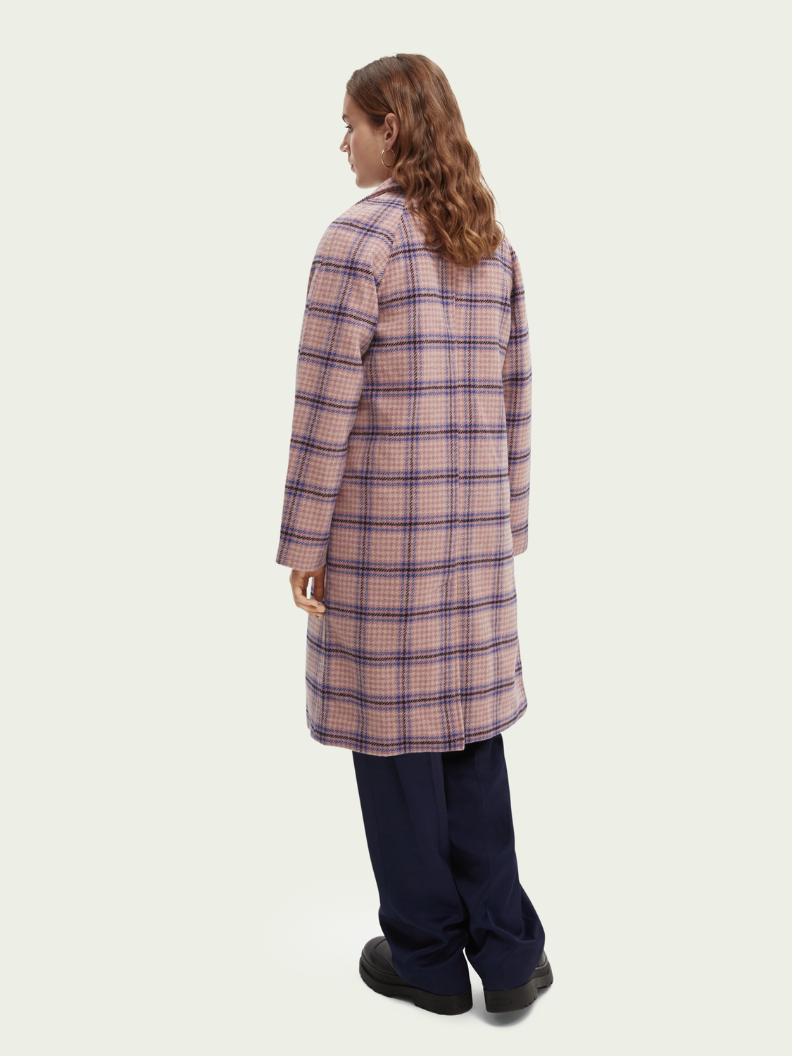 Women Double-breasted classic coat