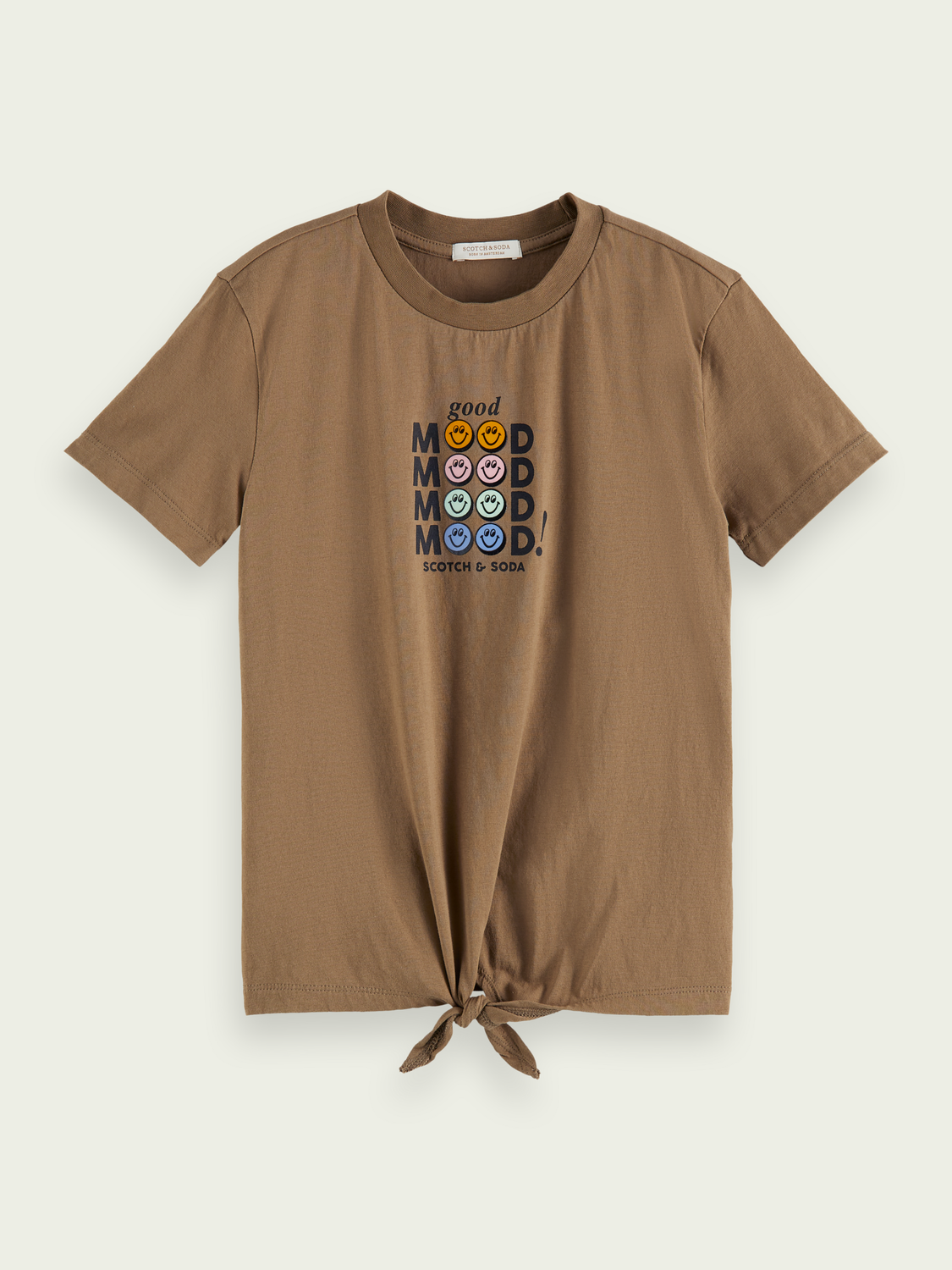 Kids Short-sleeved knotted T-shirt