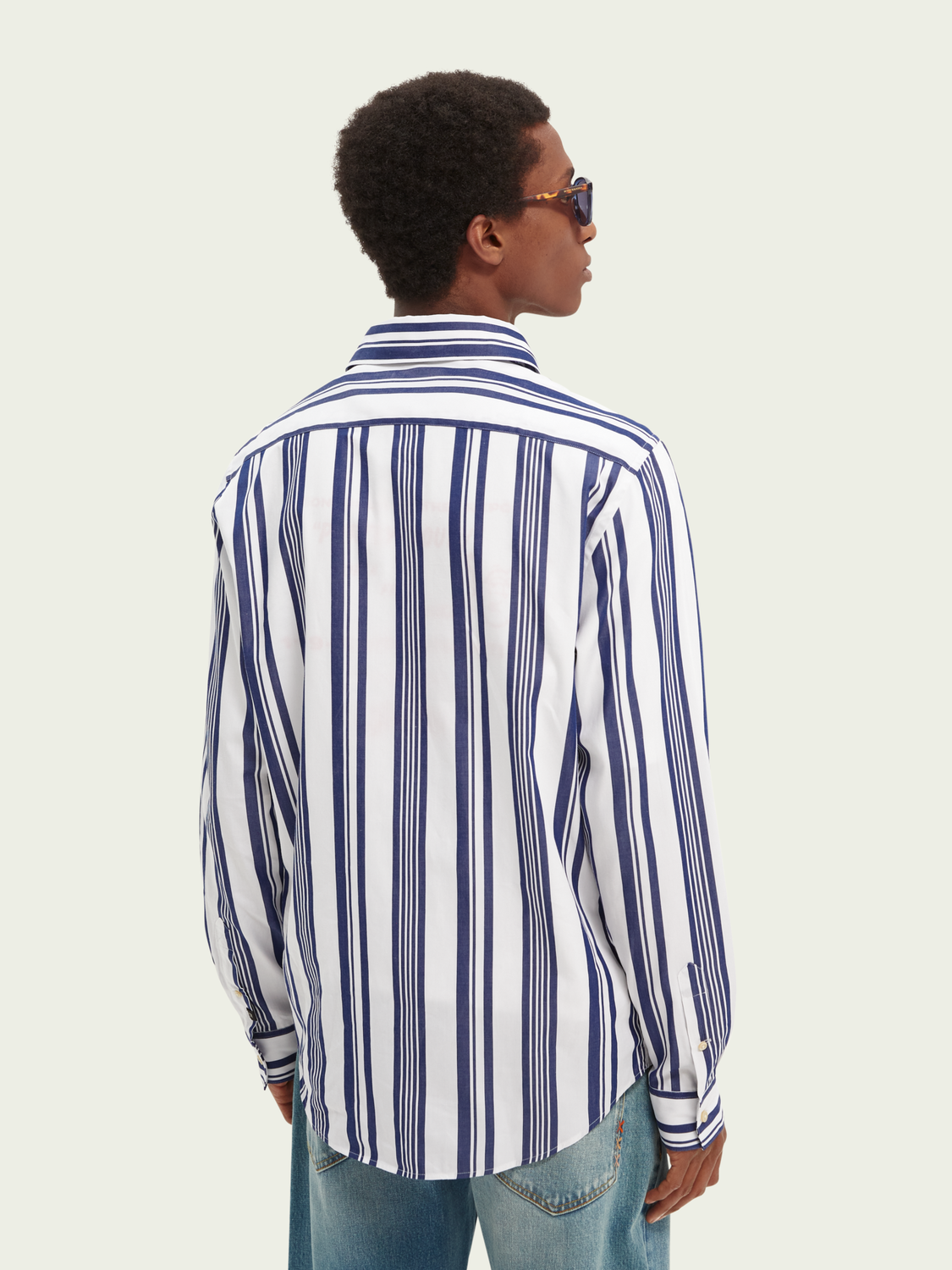 Men Striped relaxed-fit shirt