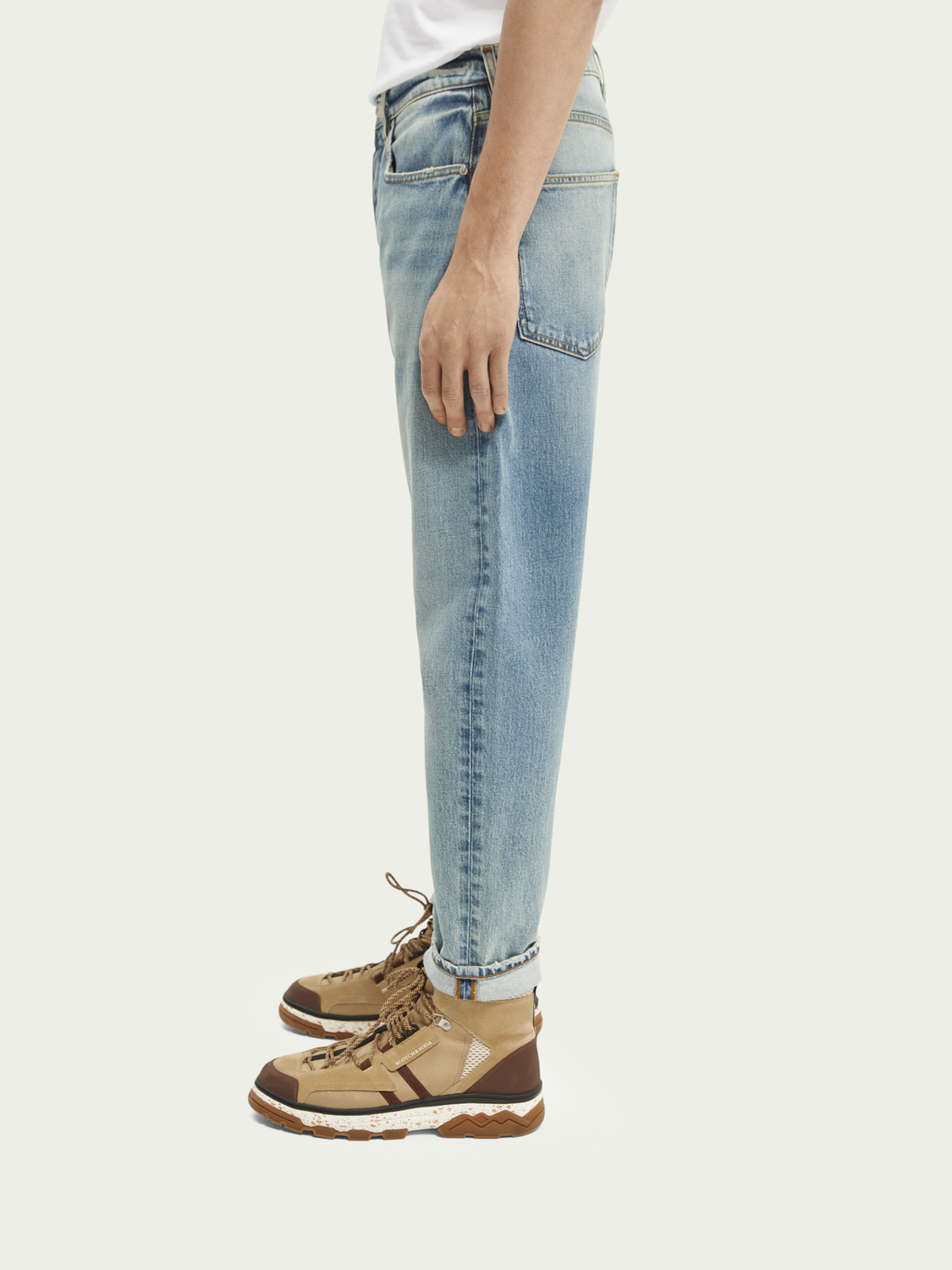 Heren Dean loose tapered jeans — Break the Record