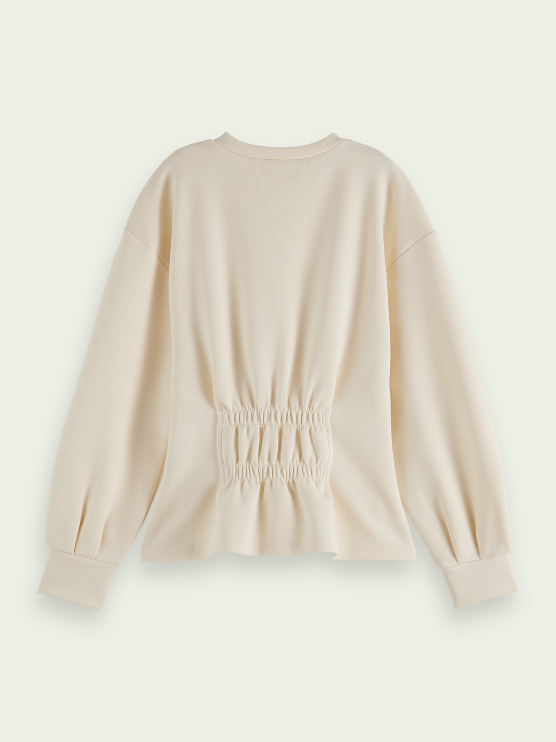 Kids Structured balloon-sleeved sweater