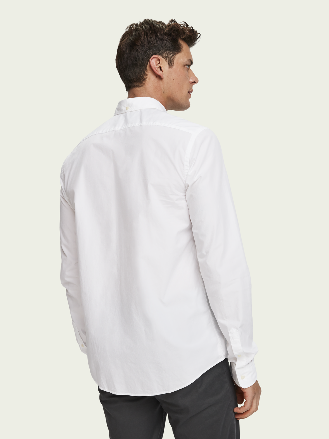 Heren Poplin overhemd | Regular fit