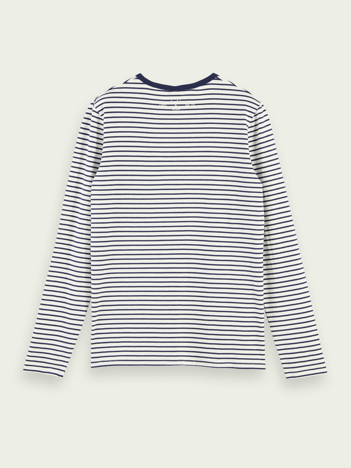 Men Long Sleeved Striped T-Shirt