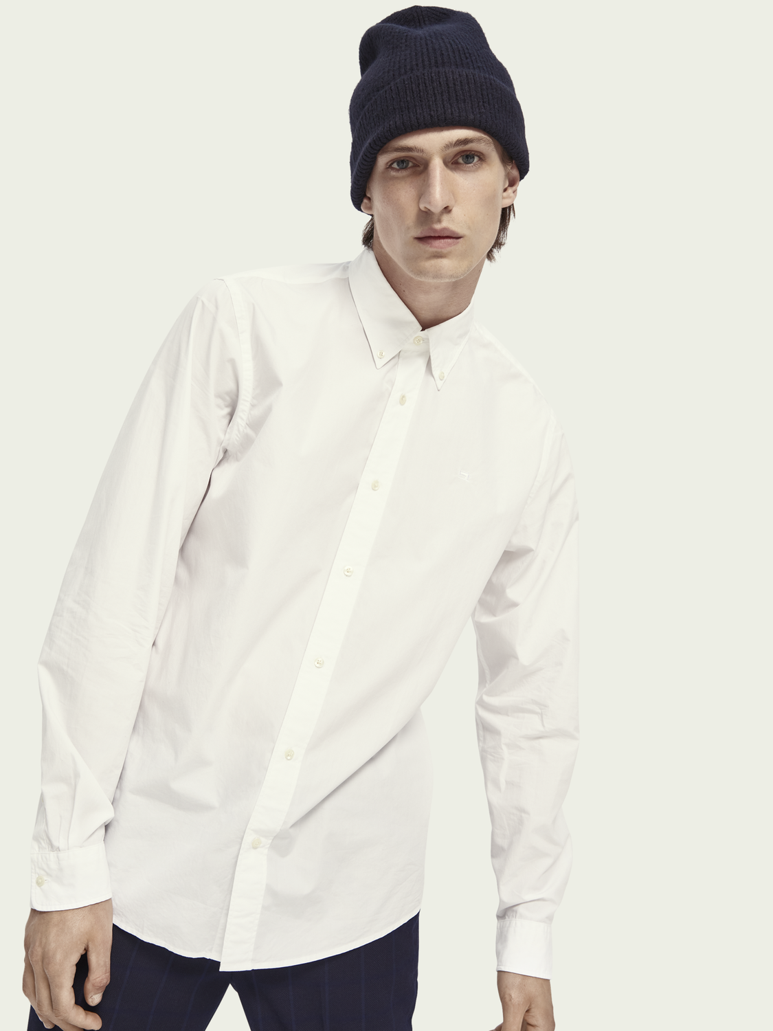 Heren Poplin overhemd | Relaxed fit