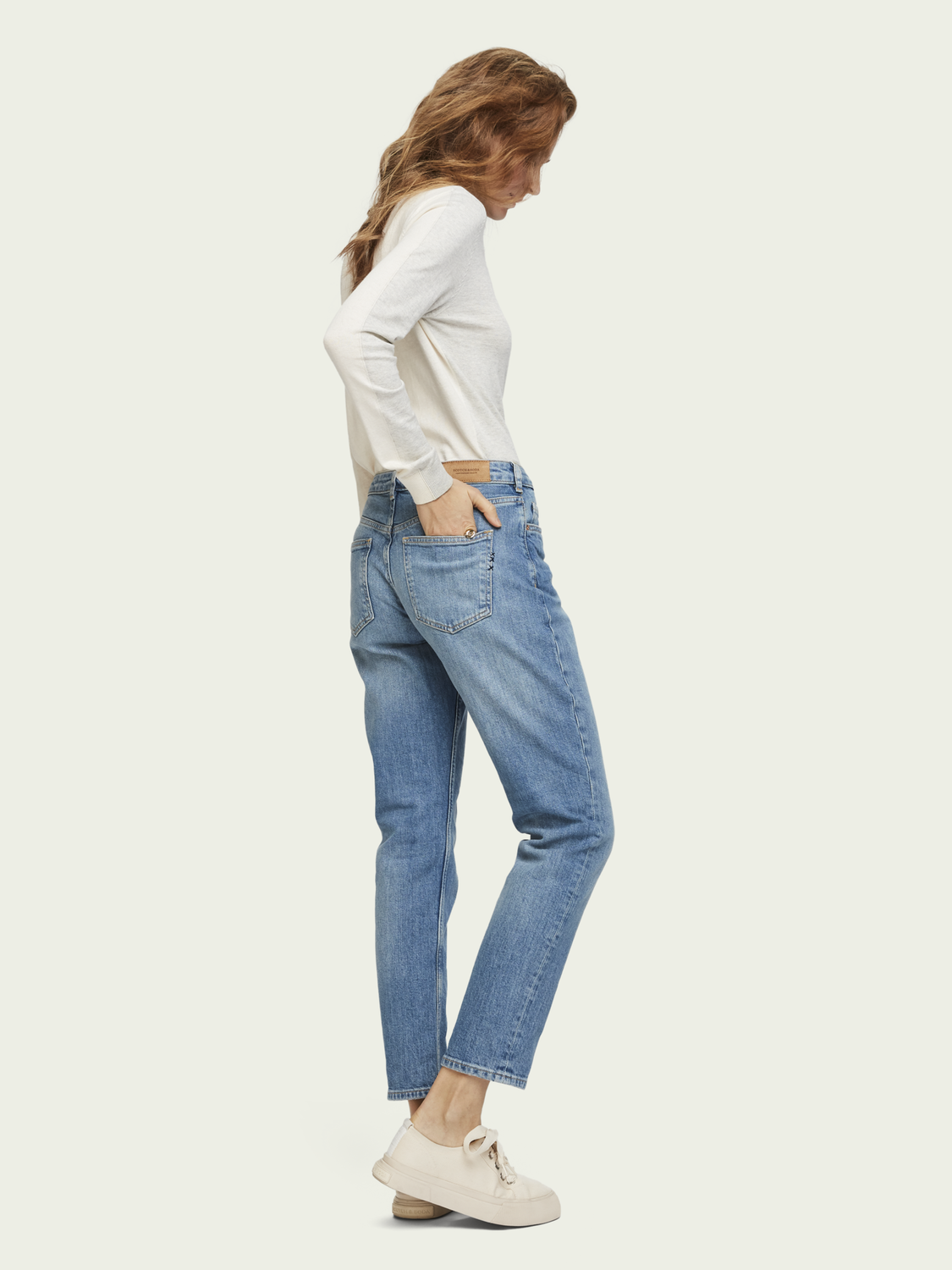 Women The Keeper - Turquoise | Mid rise slim fit