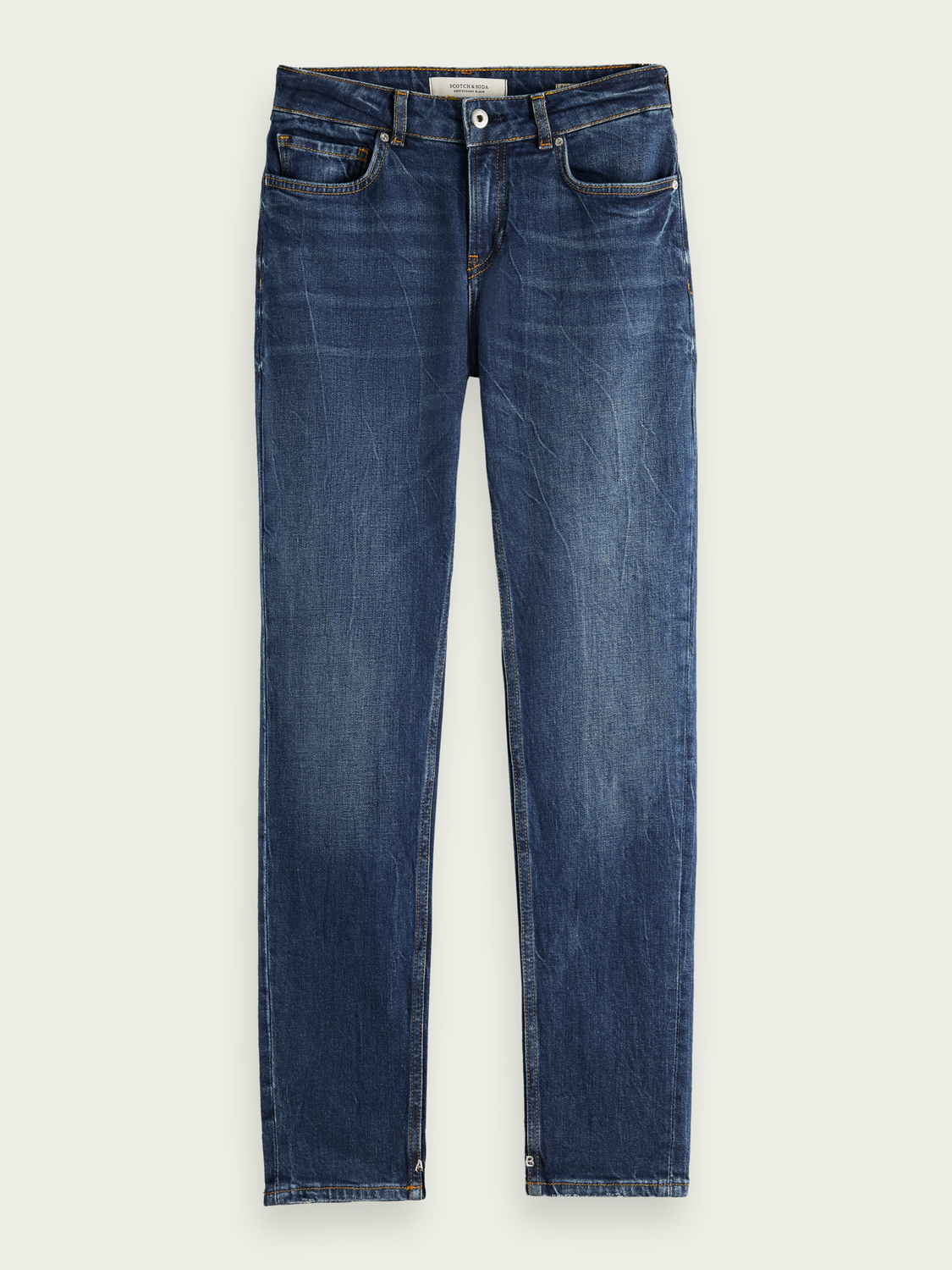 Femme The Keeper - Deep Blue | Mid rise slim fit