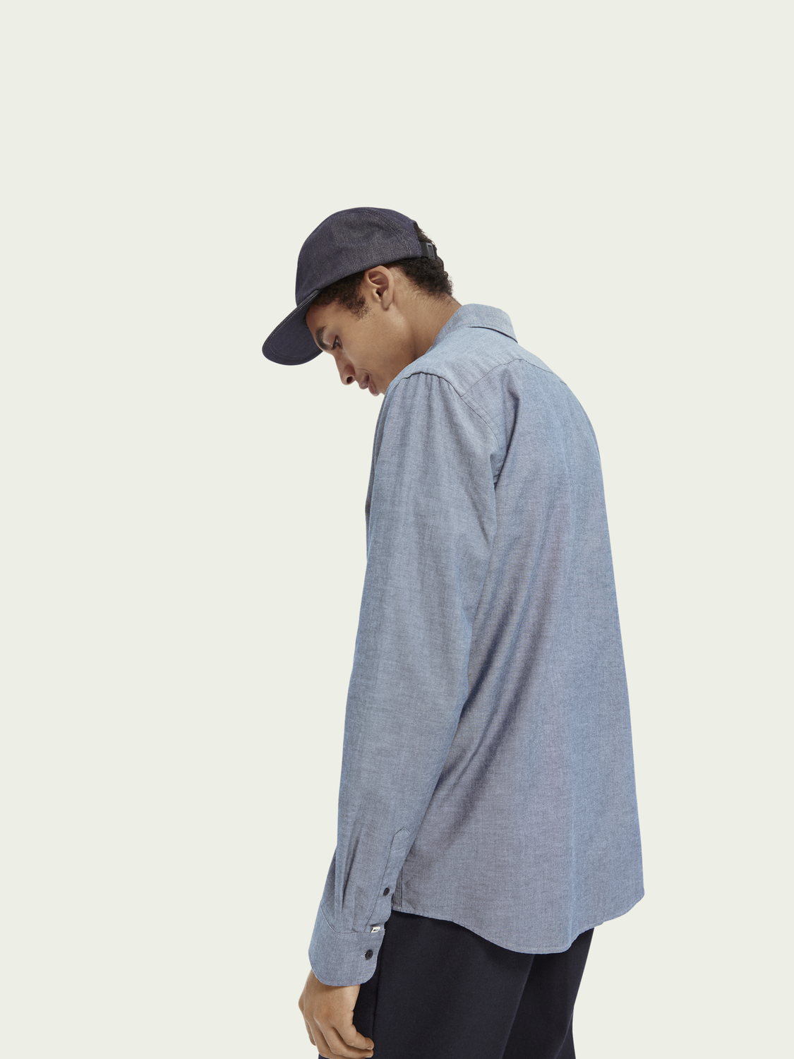 Men Chambray Shirt | Regular fit