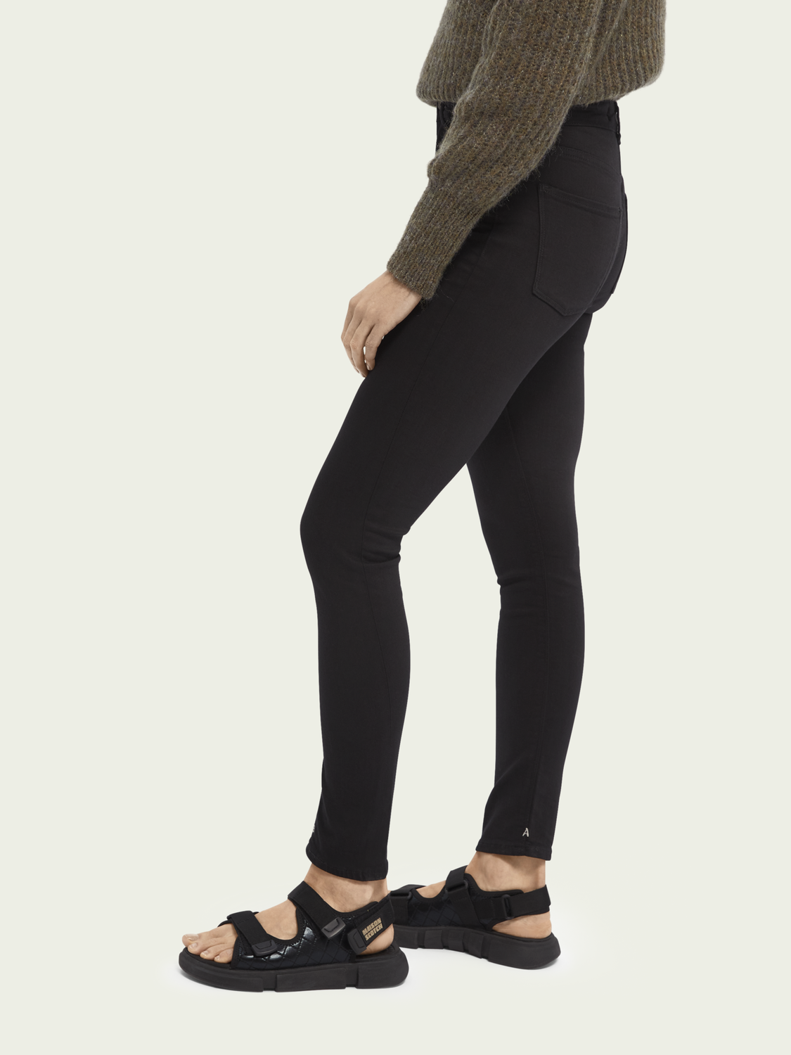 Femme Haut - Stay Black | High rise skinny fit
