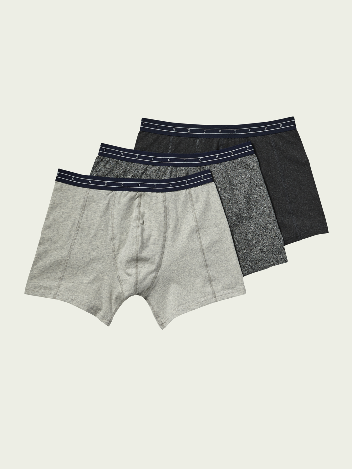 Men 3-Pack Jersey Boxer Shorts