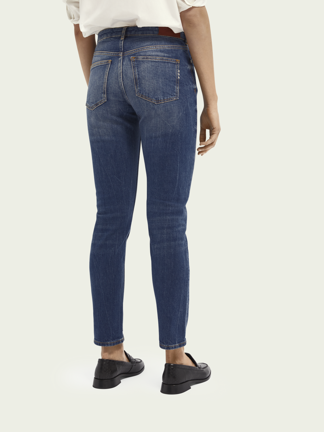 Women The Keeper - Deep Blue | Mid rise slim fit