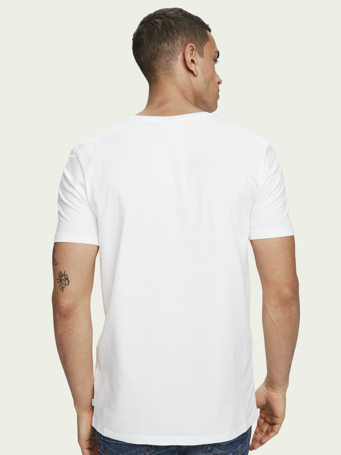 Men 2-pack stretch cotton T-shirt