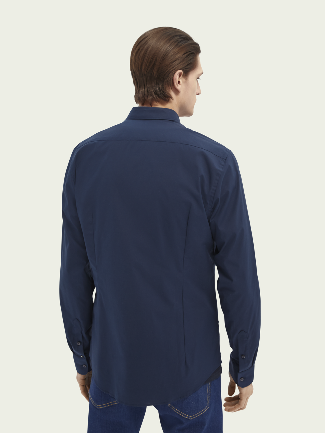 Men Classic Stretch Shirt | Slim fit