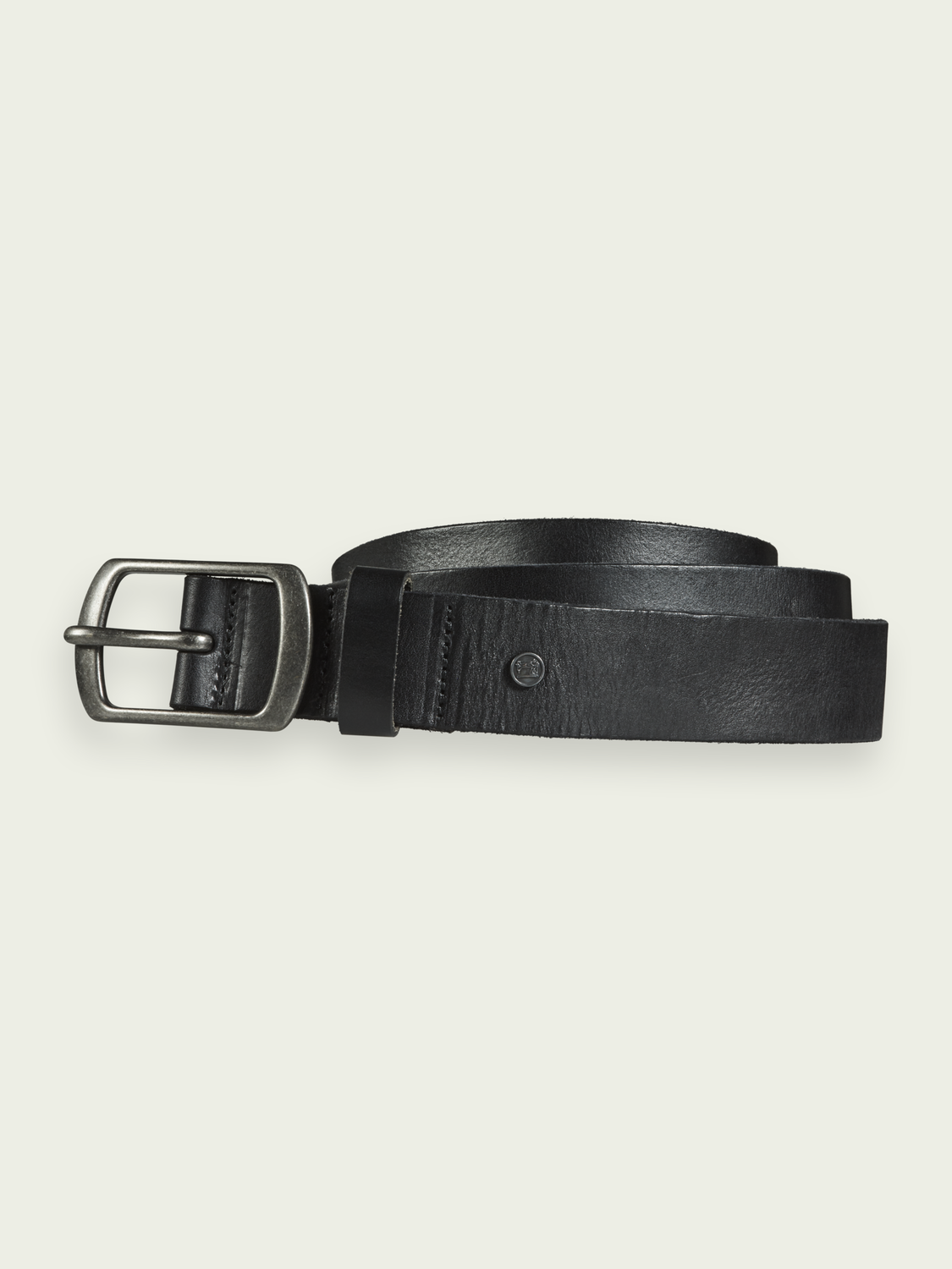 Men Classic leather belt