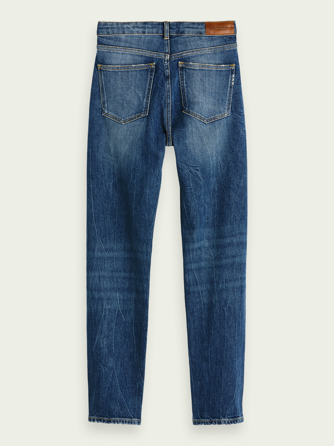 Dames The Keeper - Deep Blue | Mid rise slim fit