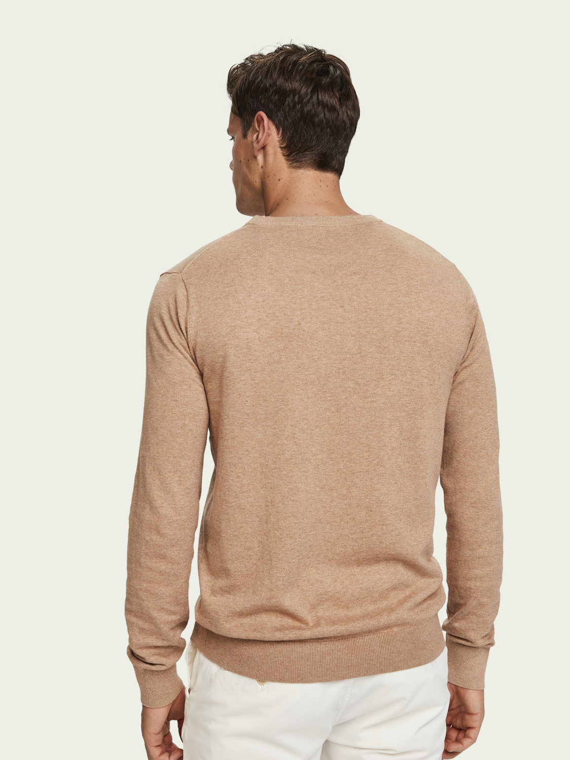 Men Classic Crew Neck Pullover