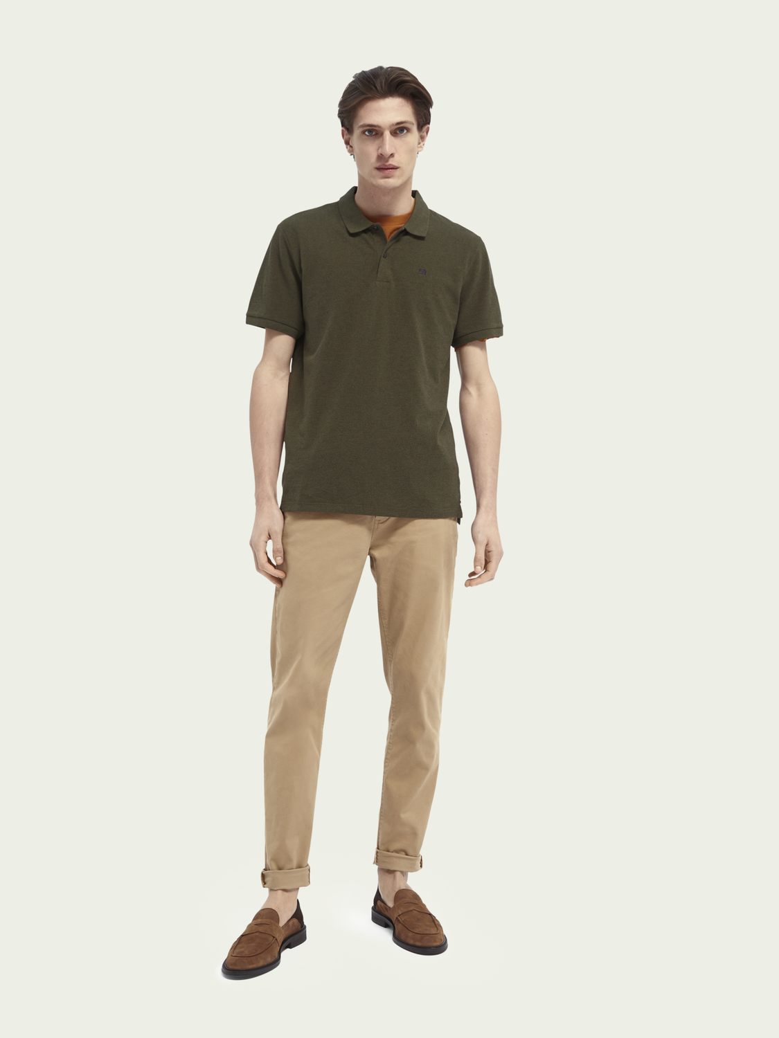 Men Organic cotton polo shirt