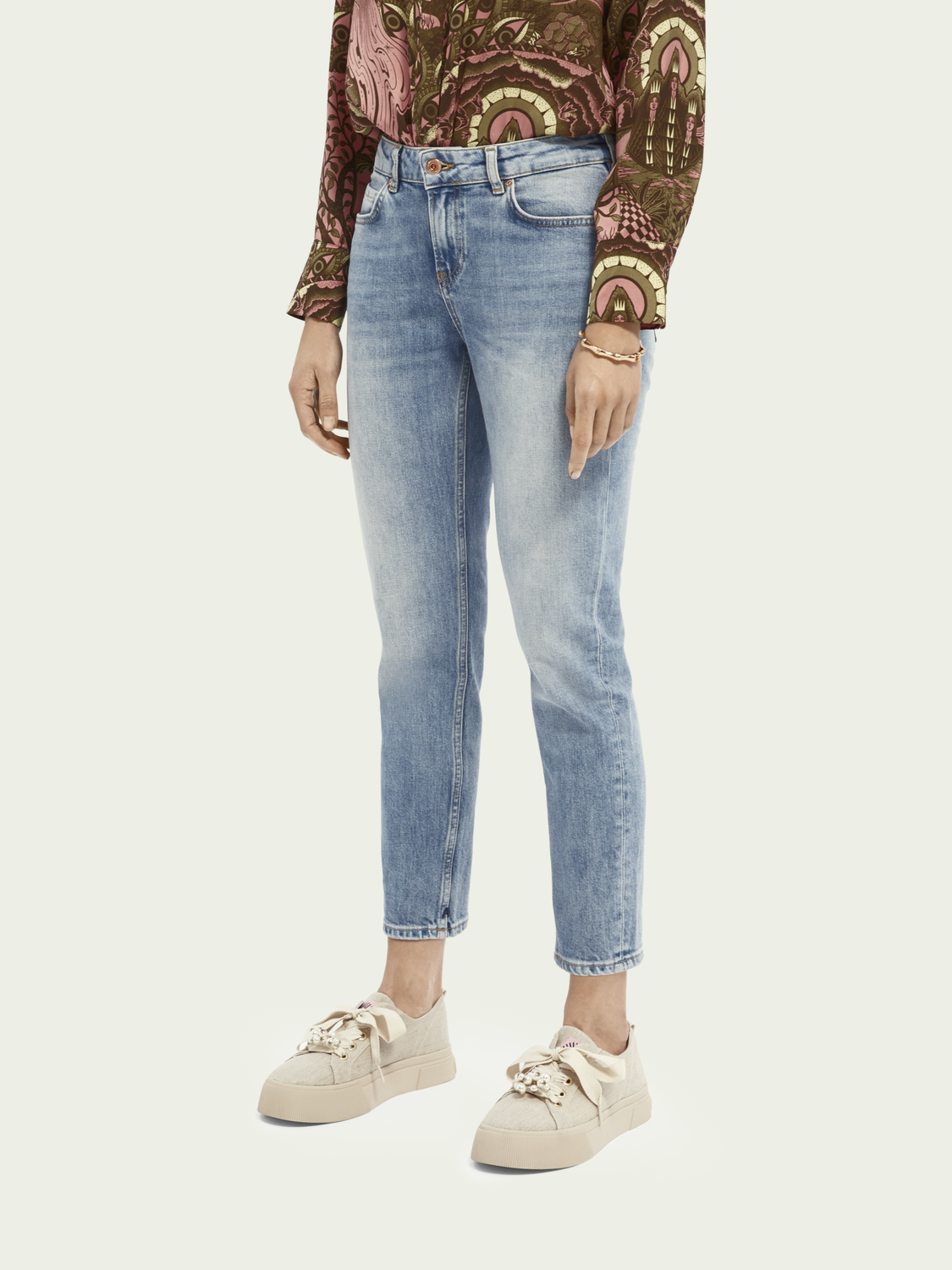 Women The Keeper - Turquoise   Mid rise slim fit