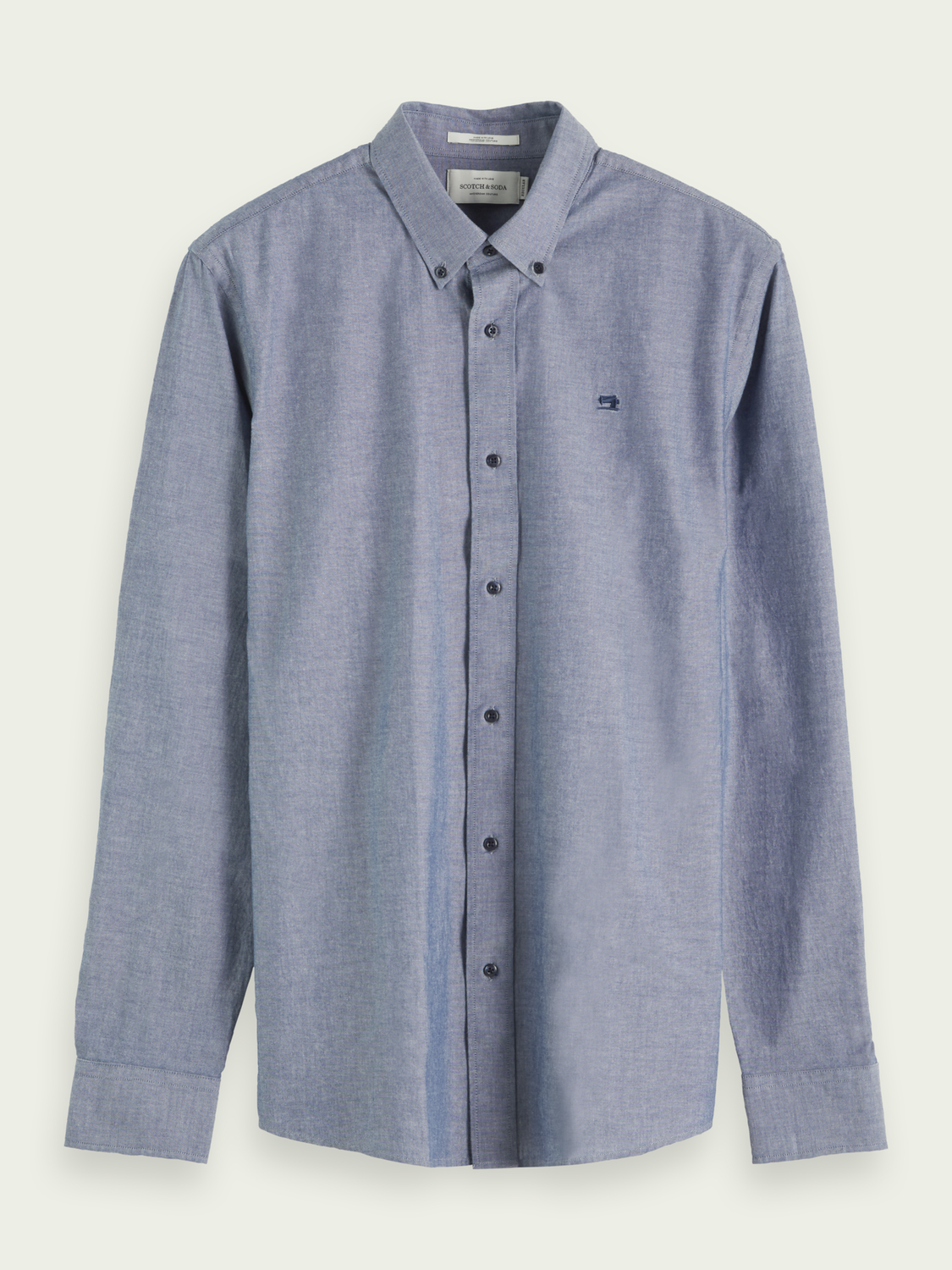 Heren Chambray overhemd | Relaxed fit