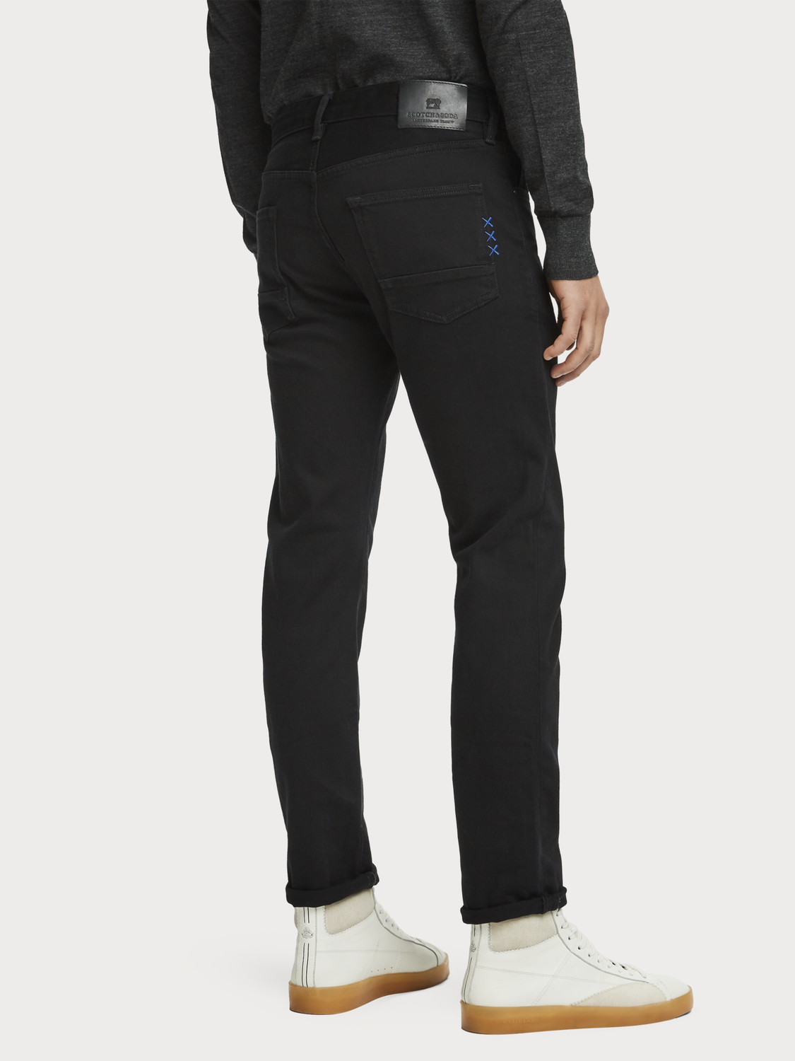 Hombre Ralston - Stay Black | Regular slim fit