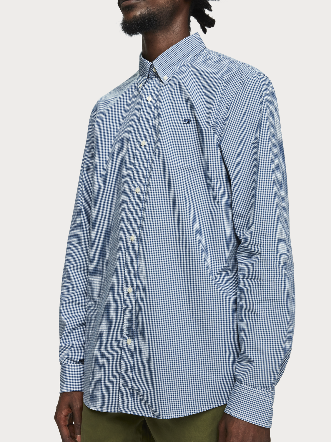 Uomo Camicia in popeline | Relaxed fit