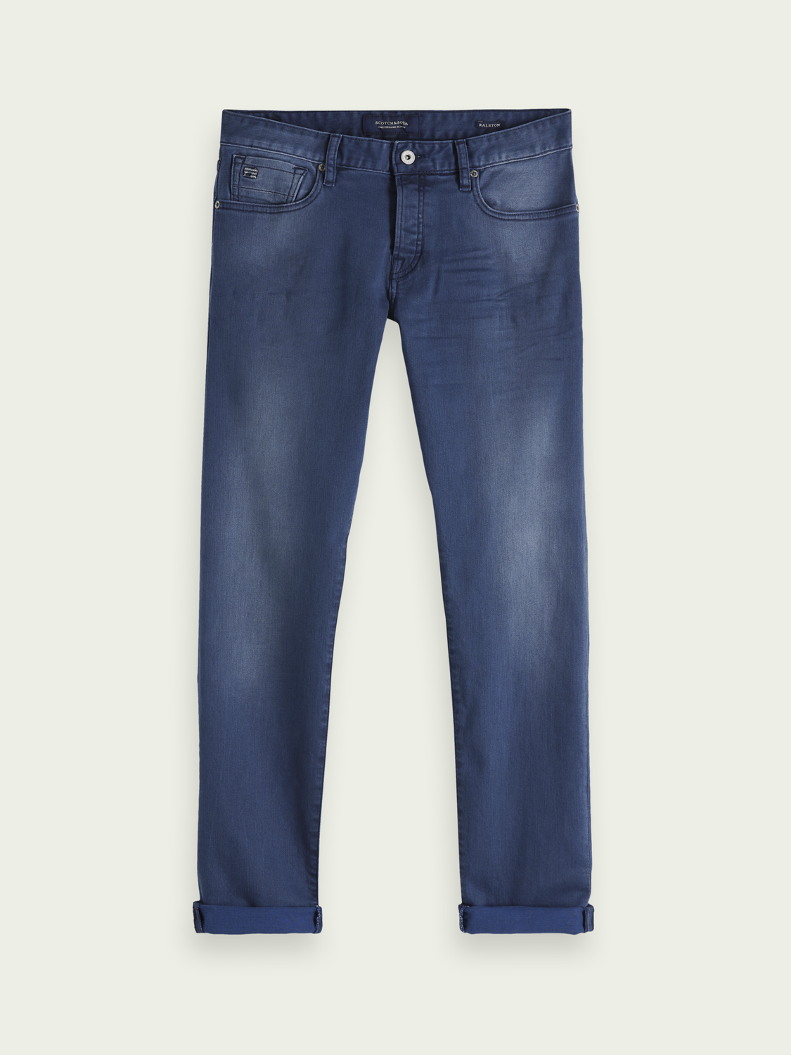 Herren Ralston – Concrete Blues | Regular Slim Fit