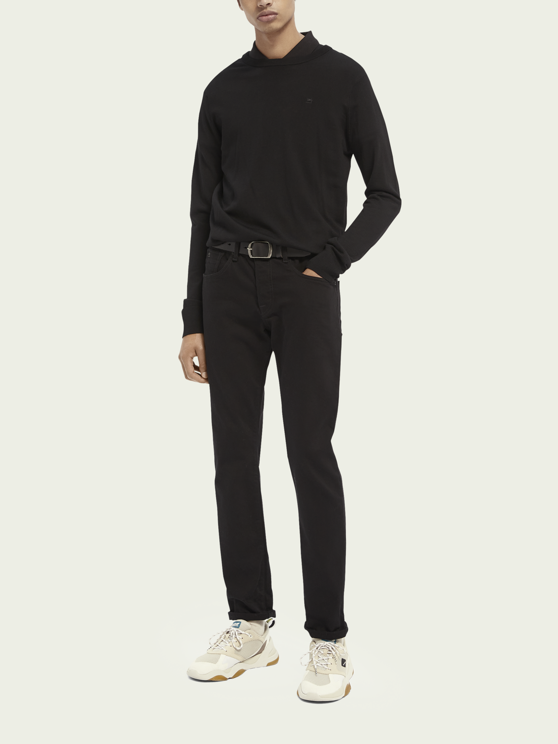 Men Ralston - Stay Black | Regular slim fit