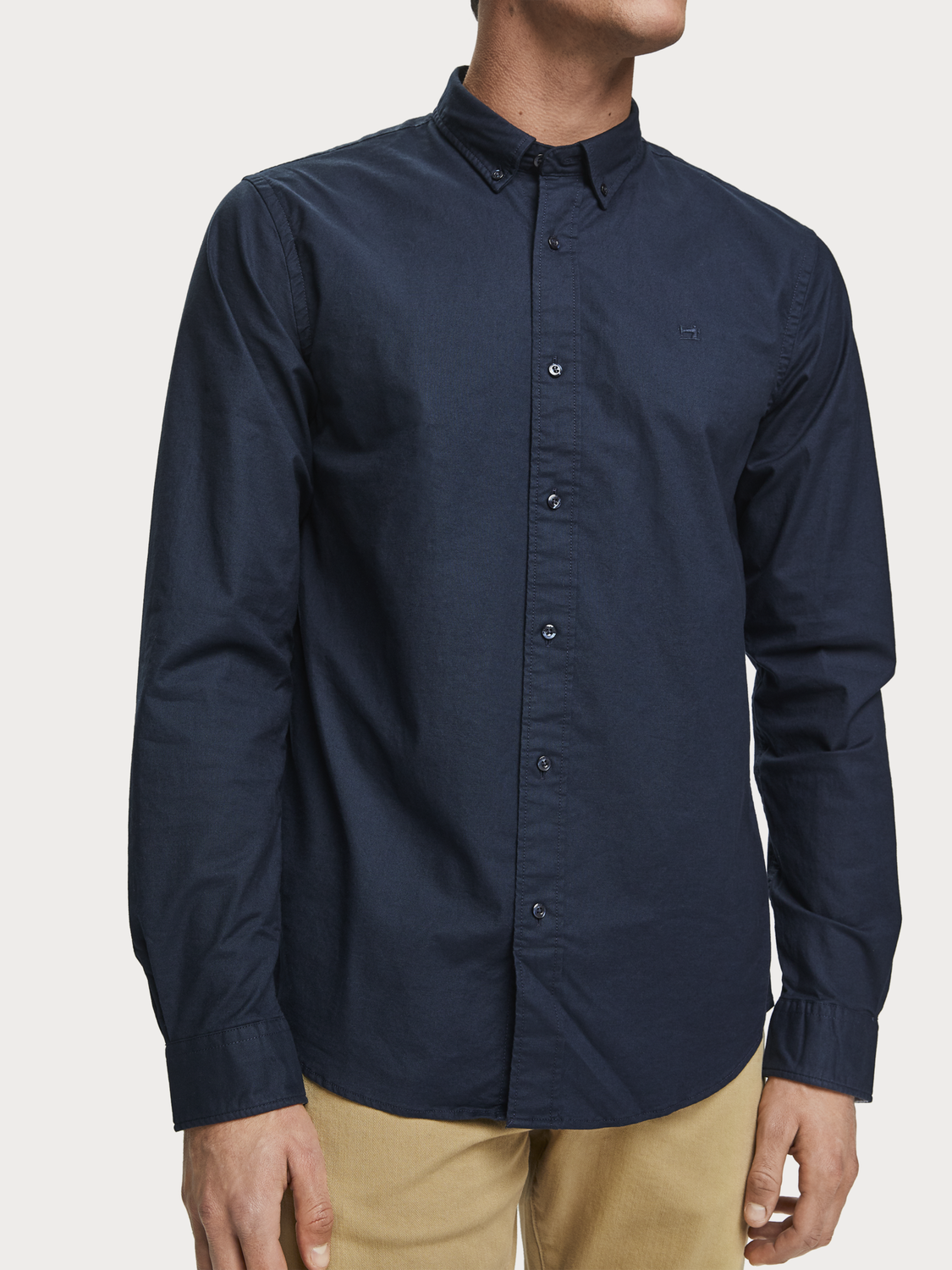 Herren Klassisches Oxford-Shirt aus Webstoff | Regular Fit