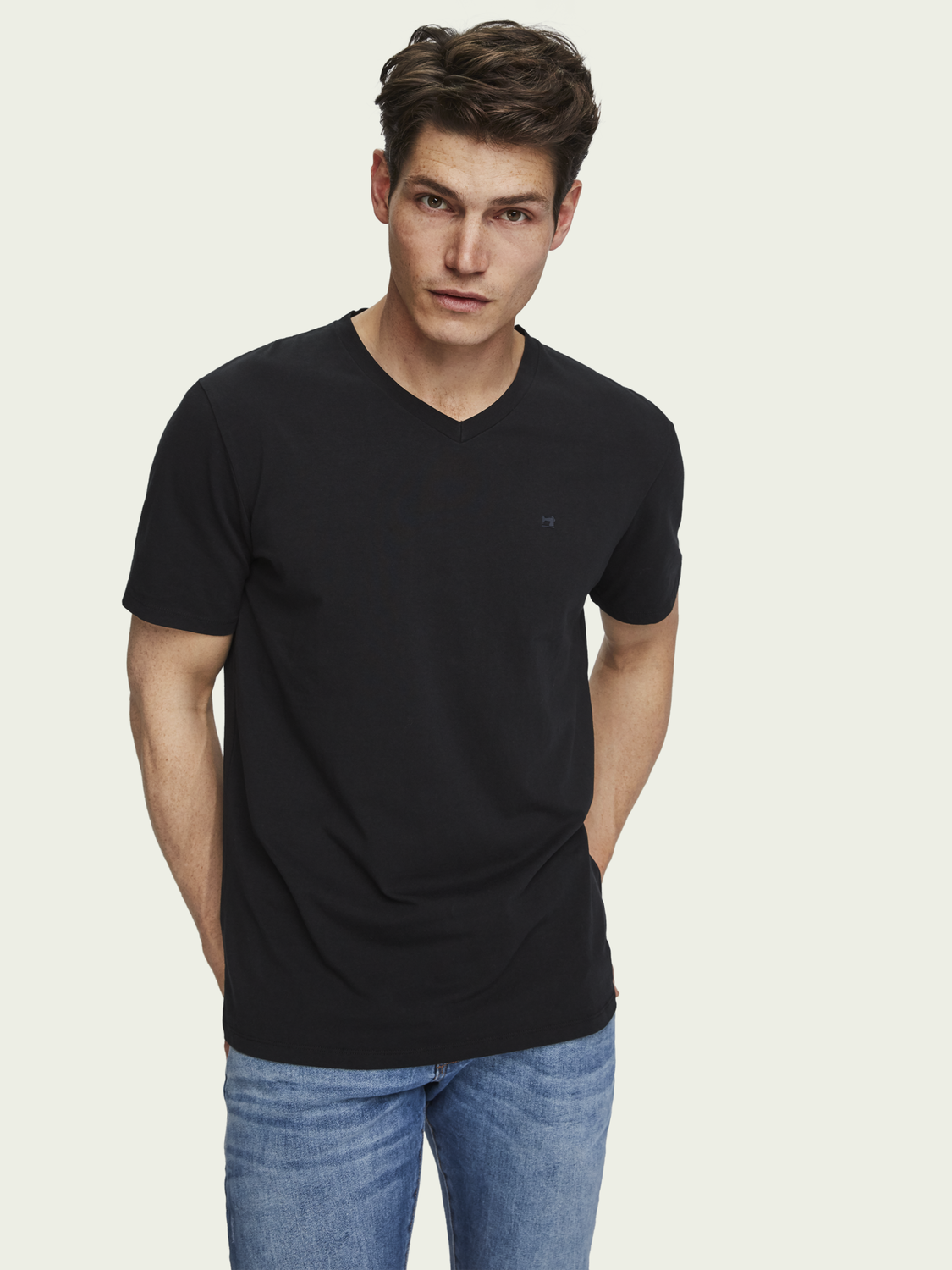 Men Classic V-Neck T-Shirt