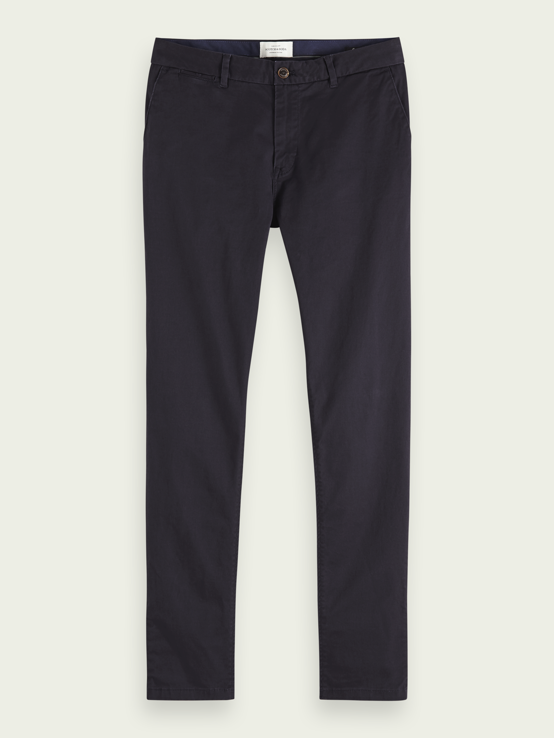 Heren Stuart - Chino van stretchkatoen | Regular slim fit