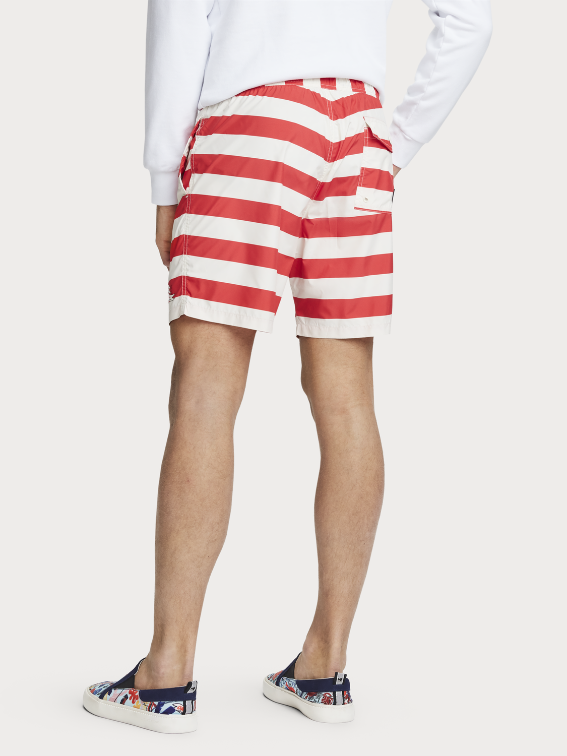 Men Mid-length swim shorts | Keoni