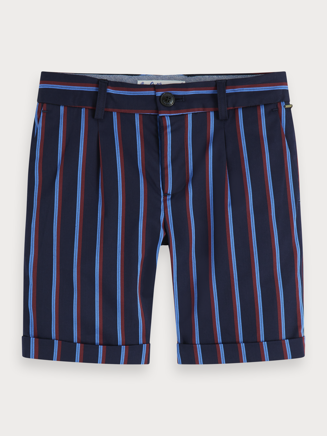 Boys Striped chino shorts