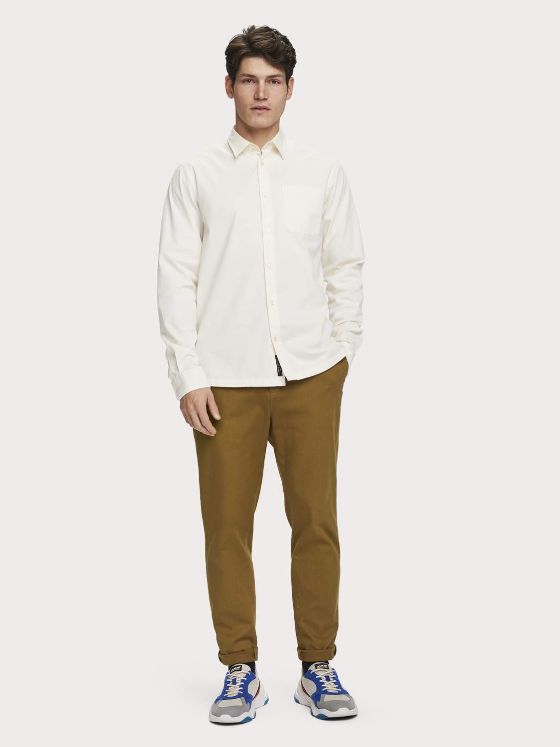 Men Cotton twill shirt | Regular fit
