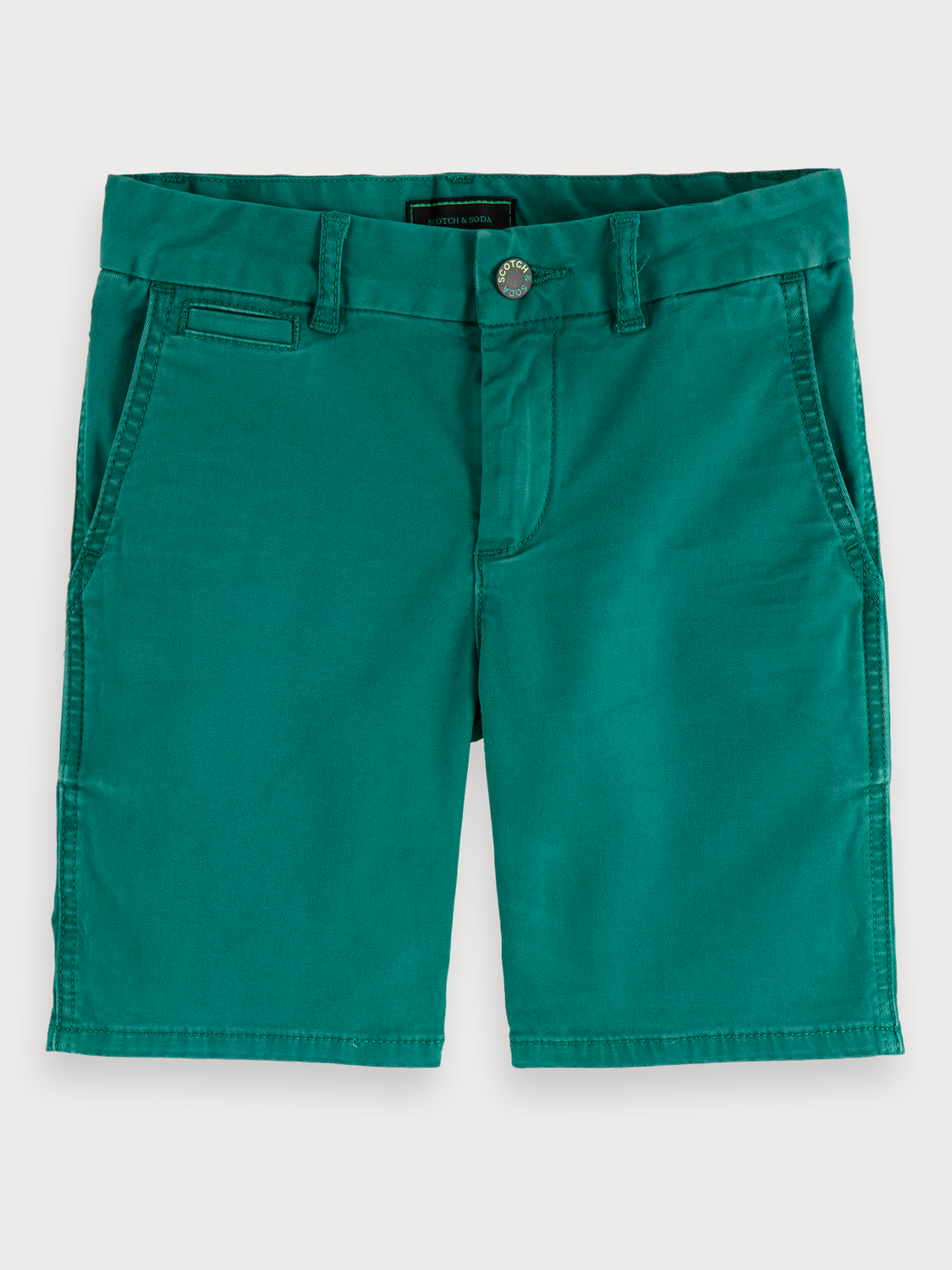 Boys Washed chino shorts