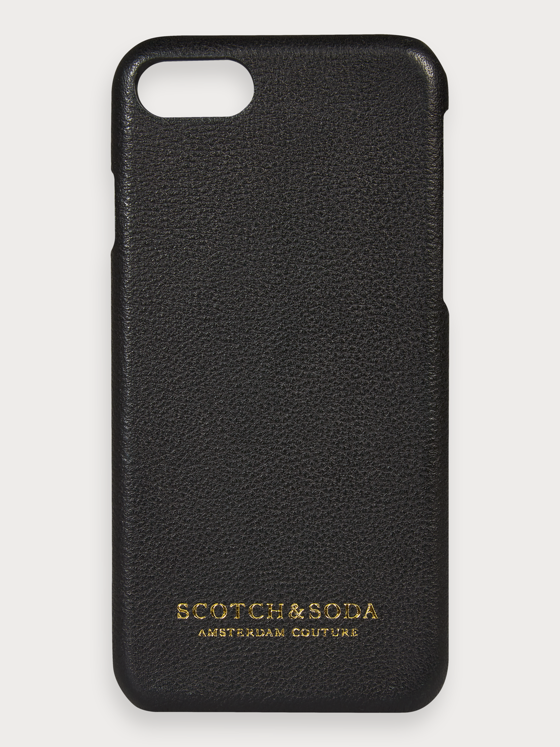 Men Leather-Coated iPhone Case