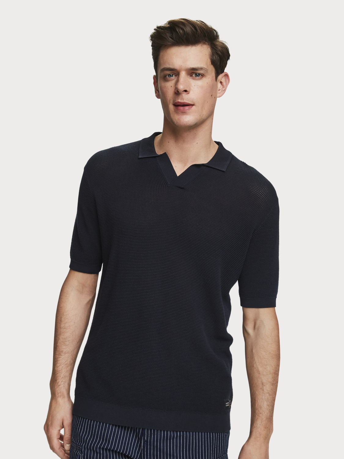 Men Knitted polo