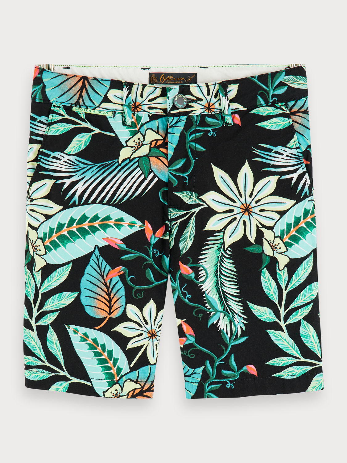 Boys Tropical Print Shorts