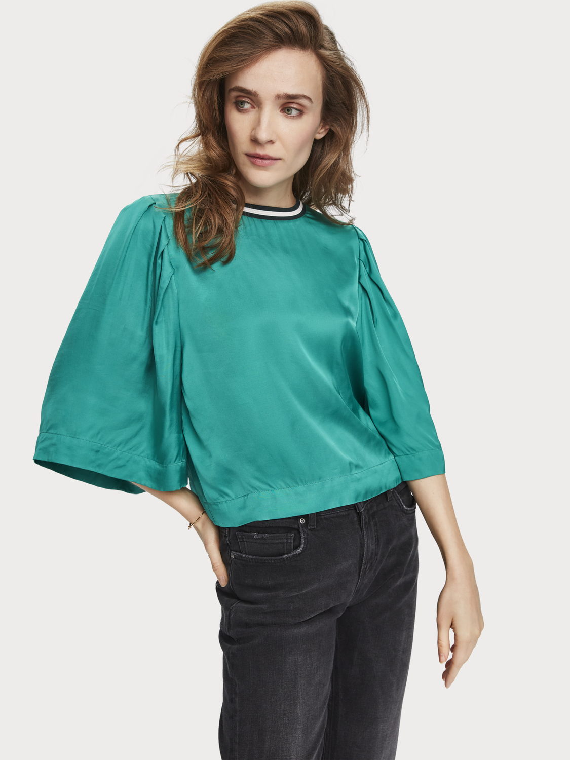 Women Wide sleeve top